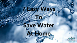 7 Easy Ways To Save Water At Home