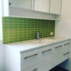 Statement Splashback - Laundry Renovations Perth